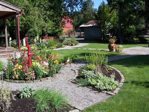 Seasonal gardens designed by Environmental Construction Inc. in Kirkland WA