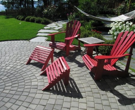 Paver patio by Environmental Construction